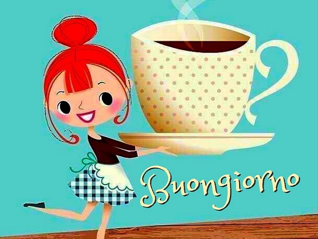 buongiorno immagini caffè