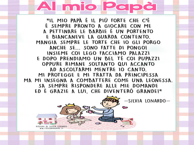al mio papà