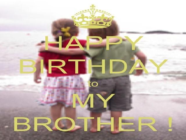 Auguri a mio fratello