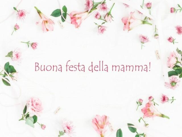 auguri per la mamma