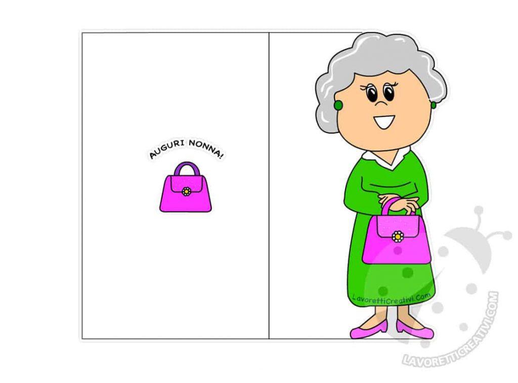 biglietti compleanno nonna