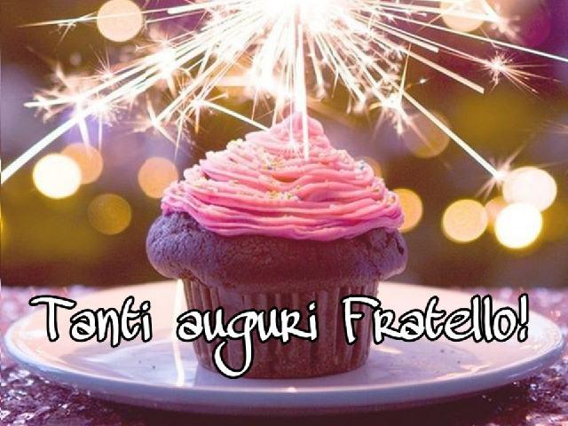 Buon compleanno fratello mio