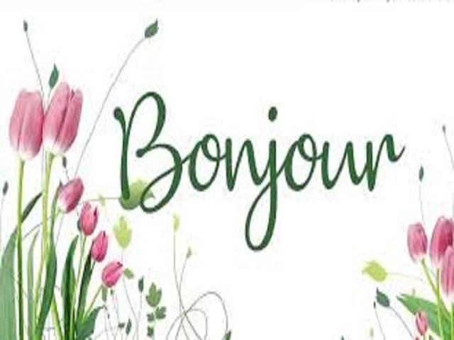 buon giorno in francese