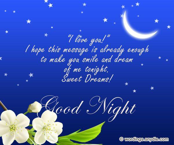 buonanotte tesoro