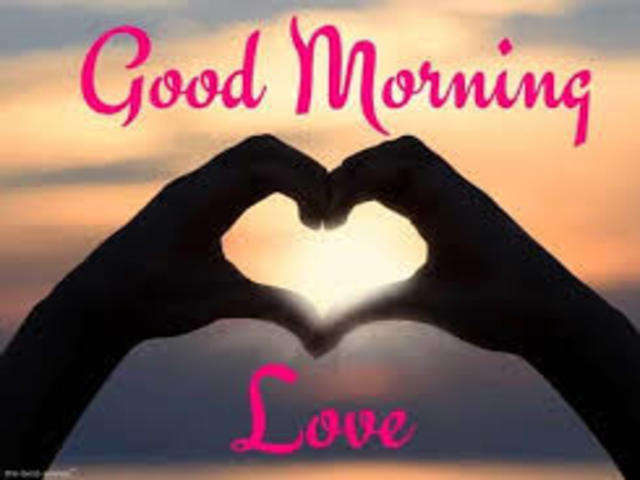 buongiorno amore in inglese