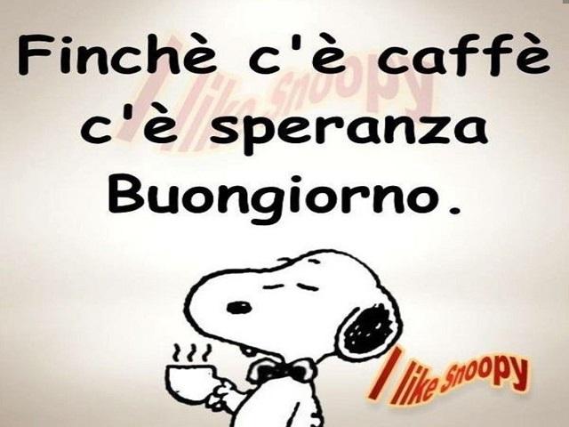 buongiorno caffè divertenti