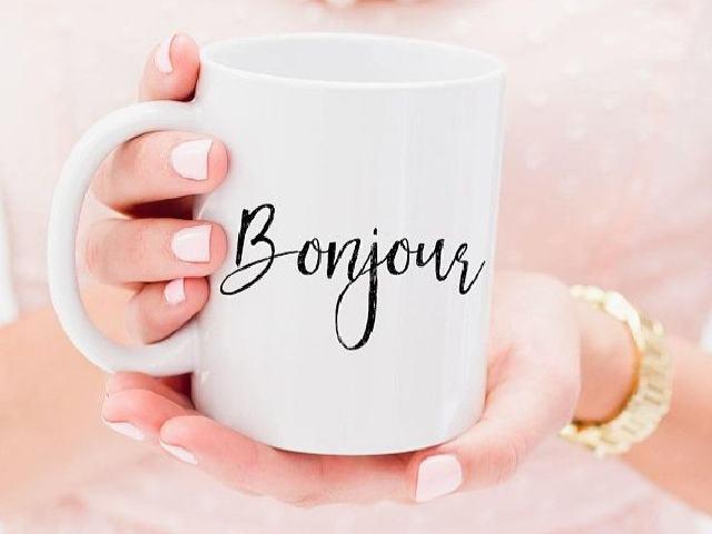buongiorno in francese