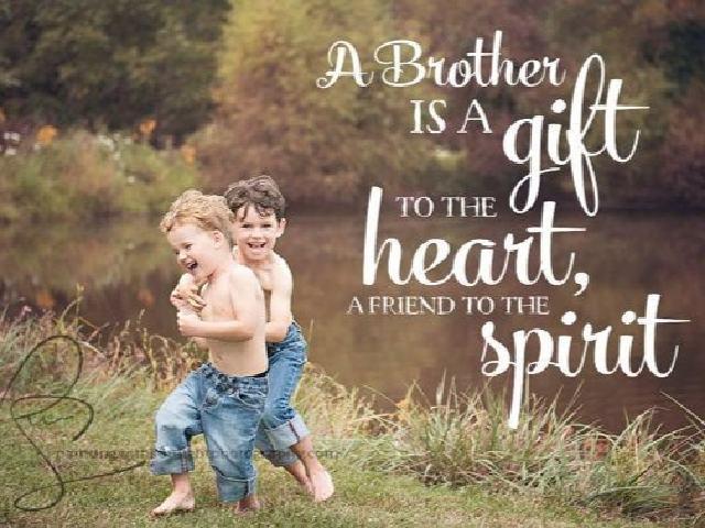 frasi auguri fratello
