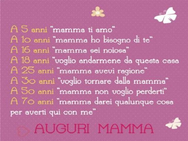 frasi per compleanno mamma