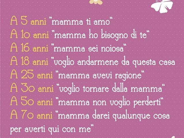 frasi mamma