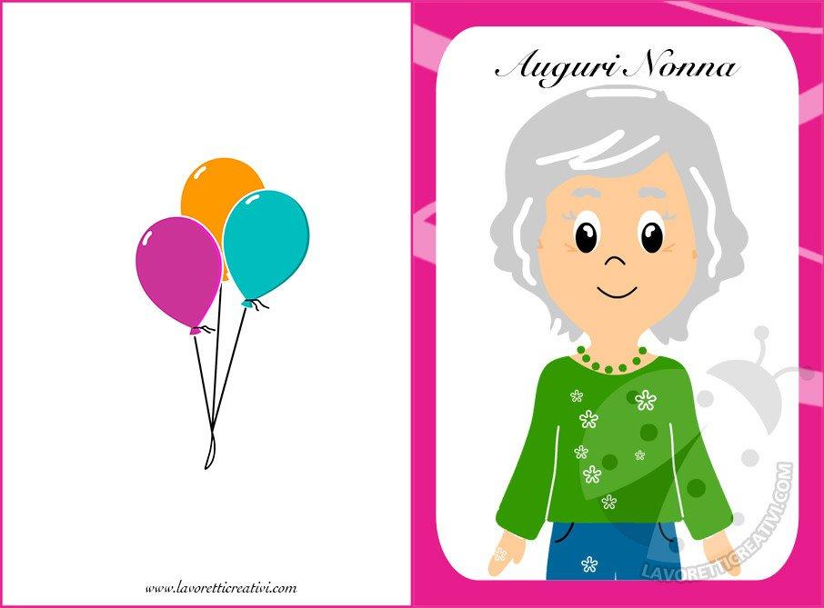 immagini di buon compleanno nonna