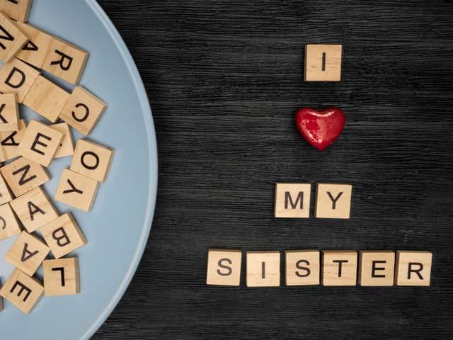 immagini sorella foto