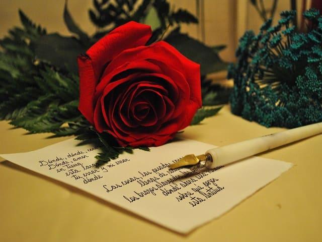 lettera d'amore per lei commovente