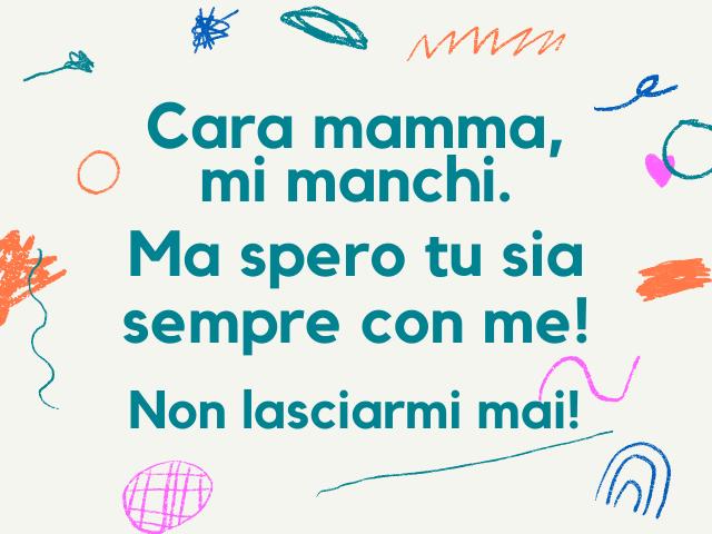 lettera mamma