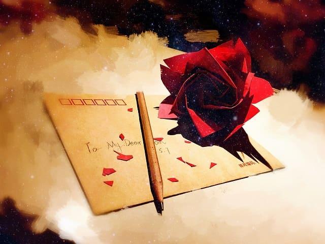 lettere d'amore per lei bellissime
