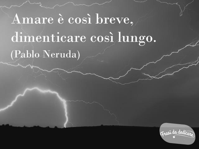 Pablo Neruda amore