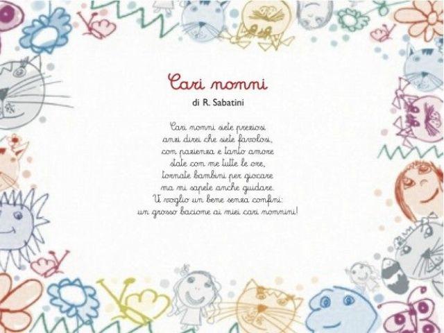 poesie sui nonni di gianni rodari