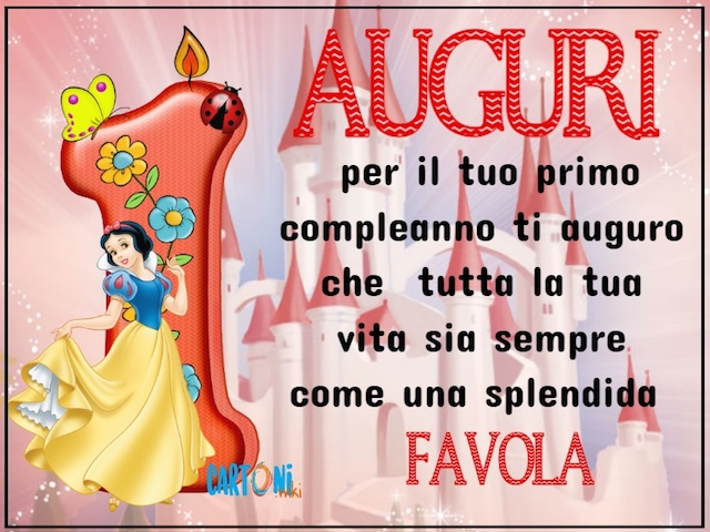 1 compleanno