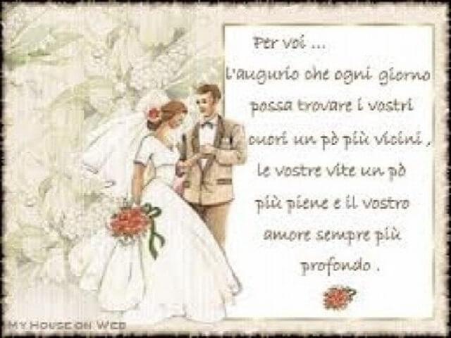 Frasi Belle Per Matrimonio Auguri.207 Frasi Immagini E Video Per I 25 Anni Di Matrimonio