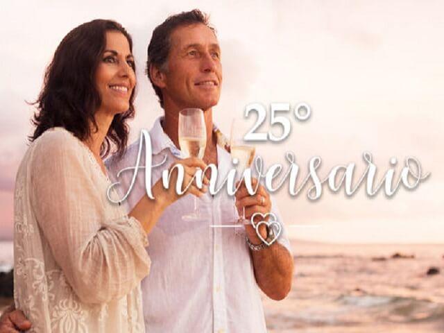 25 anni di matrimonio immagini