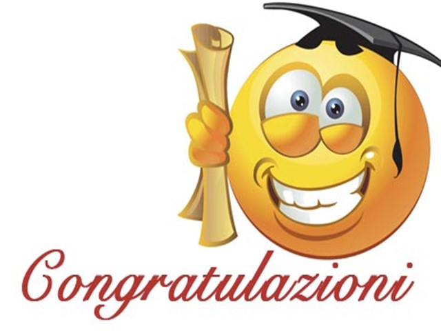 Congratulazioni laurea 1