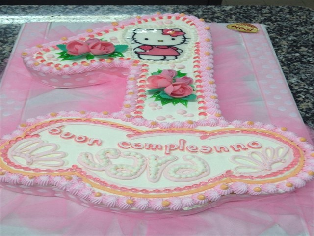 Immagini torte primo compleanno bimba 2