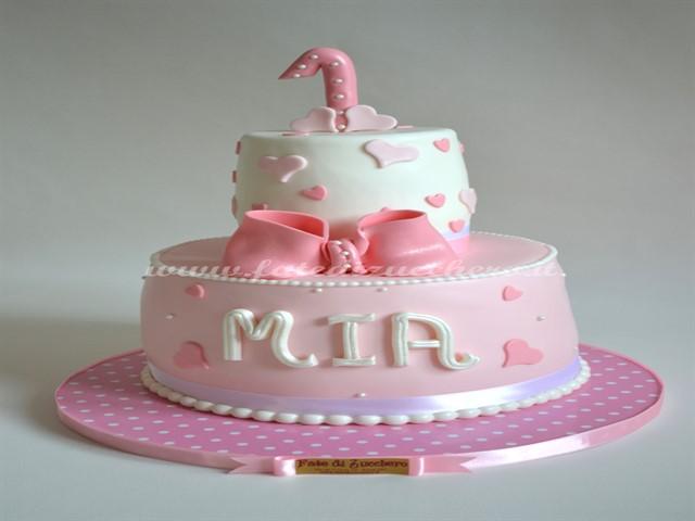 Immagini torte primo compleanno bimba 5