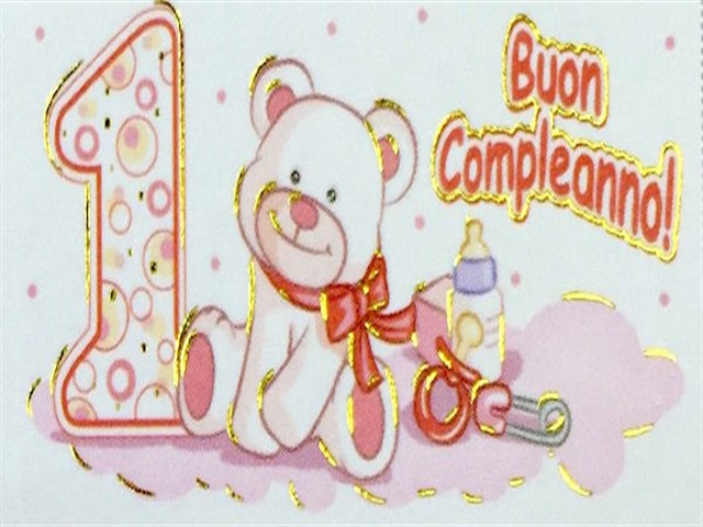 poesie primo compleanno