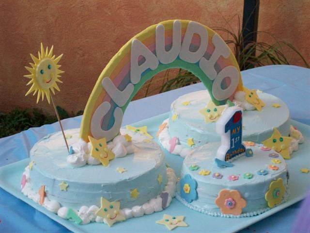 Torta primo compleanno bimbo 5