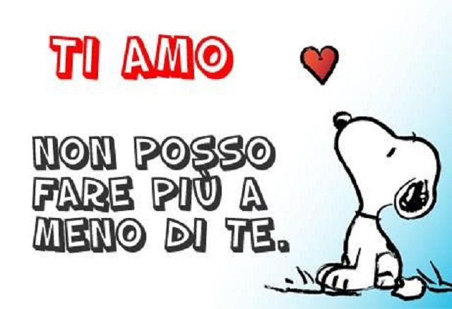 amore ti amo