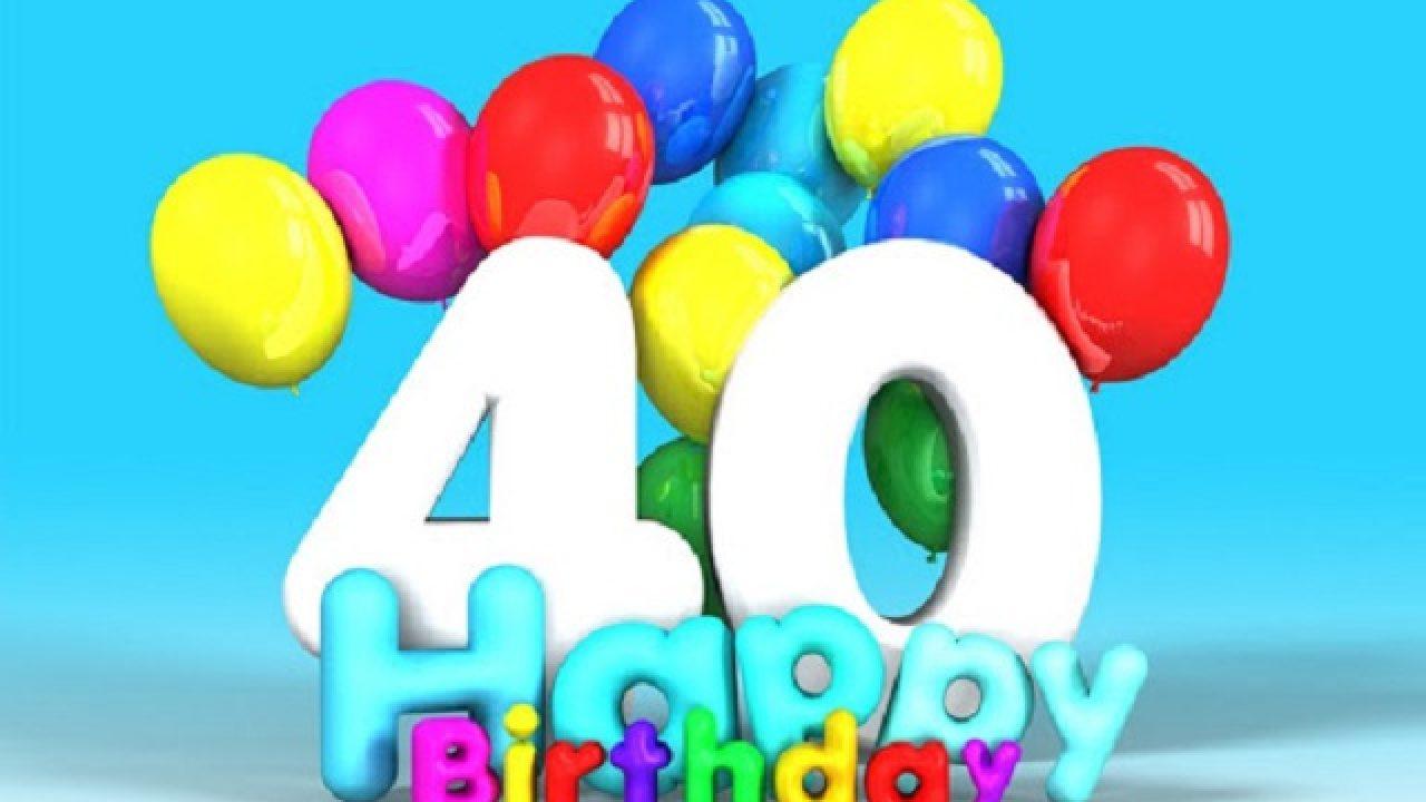 Festa Compleanno 40 Anni Uomo auguri 40 anni: 100 frasi per augurare un compleanno