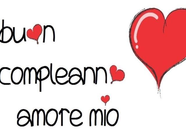 auguri amore mio