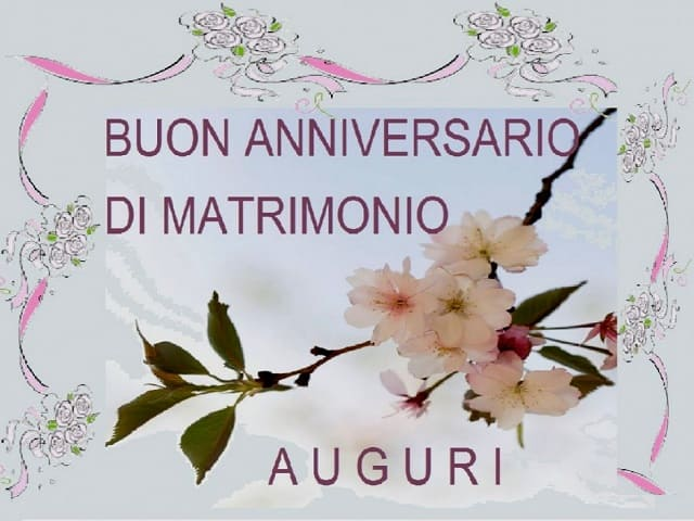 auguri anniversario di matrimonio immagini