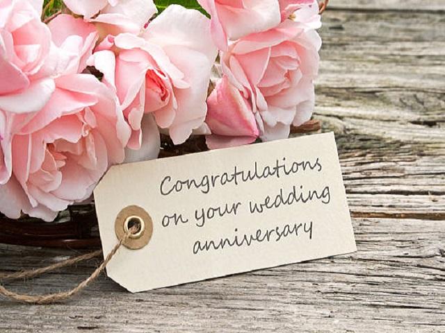 auguri anniversario di nozze