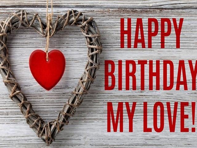 Buon compleanno amore mio inglese