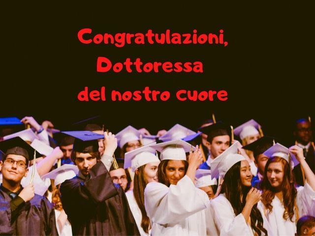 congratulazioni dottoressa laurea