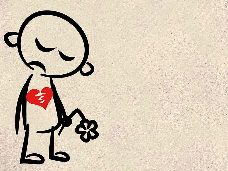 aforismi amore non corrisposto