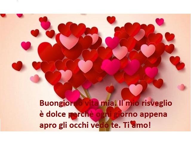 frasi amore buongiorno