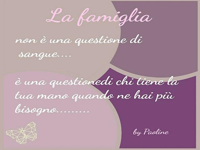frasi amore famiglia