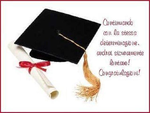 frasi congratulazioni laurea