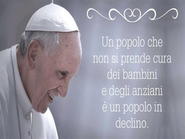 Frasi di Papa Francesco sui bambini
