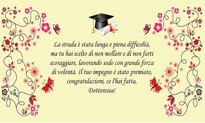 frasi laurea congratulazioni