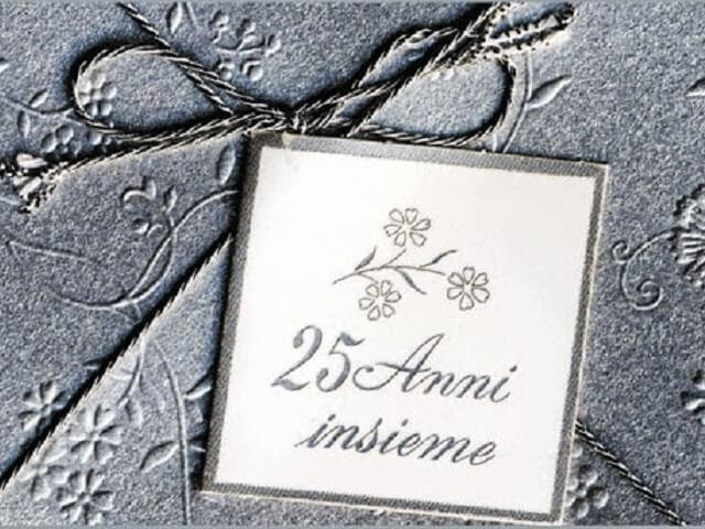 frasi per anniversario di matrimonio 25 anni