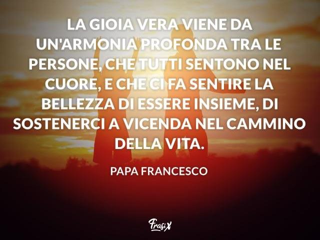 frasi sulla famiglia di papa francesco