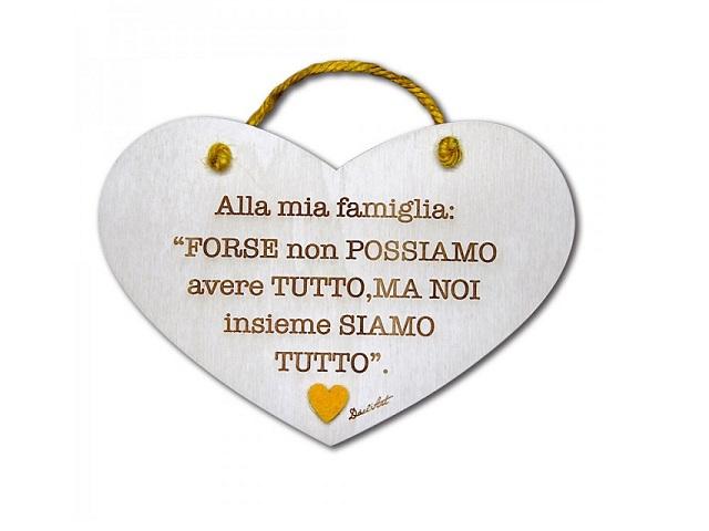 il valore della famiglia