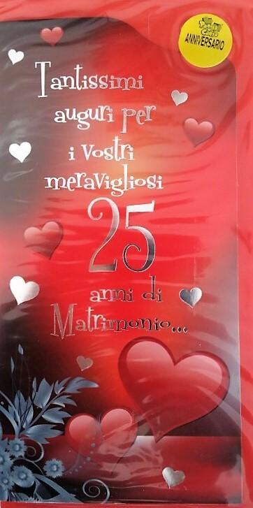 Auguri Per Anniversario Matrimonio.207 Frasi Immagini E Video Per I 25 Anni Di Matrimonio