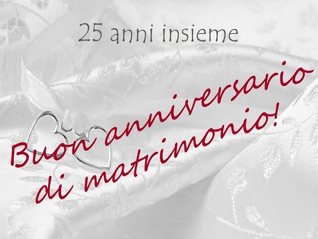 Anni Anniversario Matrimonio.207 Frasi Immagini E Video Per I 25 Anni Di Matrimonio