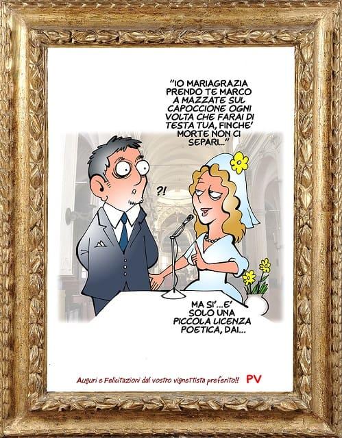 Conosciuto Anniversario Matrimonio Auguri Spiritosi VX29