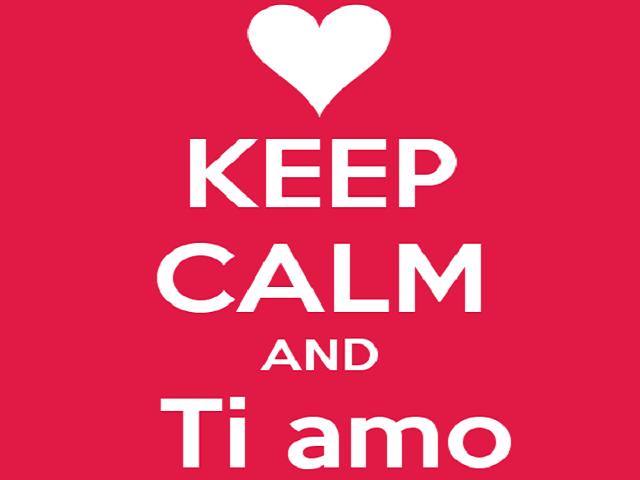 keep calm and ti amo