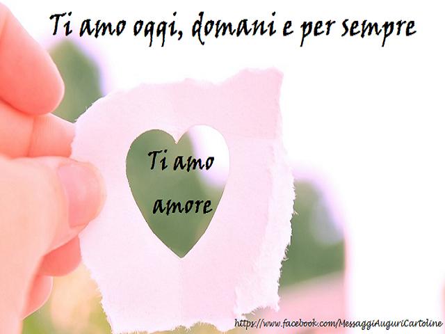 ti amo amore